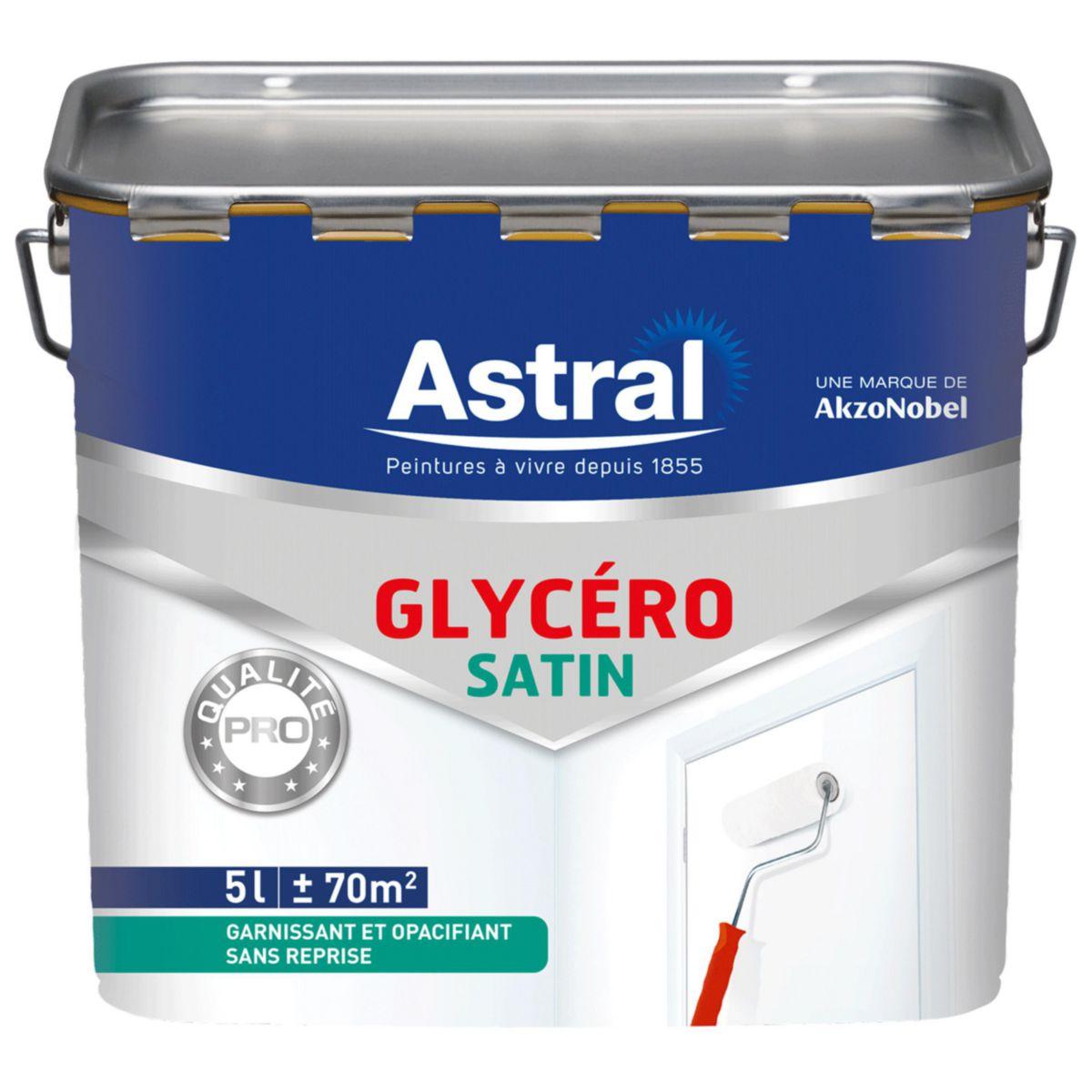 Peinture Glyc Ro Bicouche Blanc Base Satin Pot De 5 L Astral