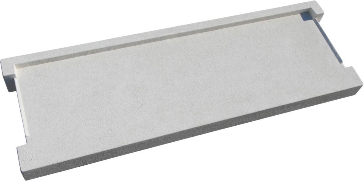 Lib Industries Appui De Fenêtre Avec Débord H Siel Béton Blanc