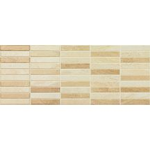 Carrelage mural int rieur fa ence hanna beige mosa que for Pose carrelage mosaique mural