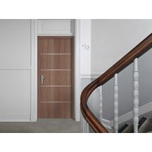 porte d 39 int rieur bloc porte pali re porte feu ei30 acoustique 204x83 cm droite poussant jeld. Black Bedroom Furniture Sets. Home Design Ideas