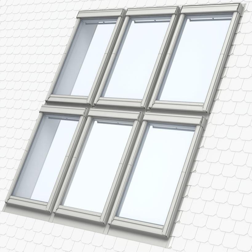 velux raccord ekl jumo l pour fen tre de toit mk04 78x98. Black Bedroom Furniture Sets. Home Design Ideas