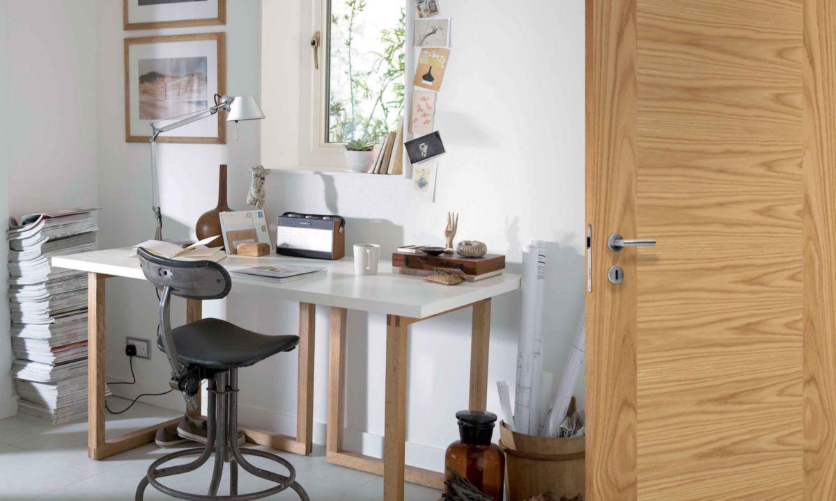 jeld wen bloc porte huisserie pose fin de chantier. Black Bedroom Furniture Sets. Home Design Ideas