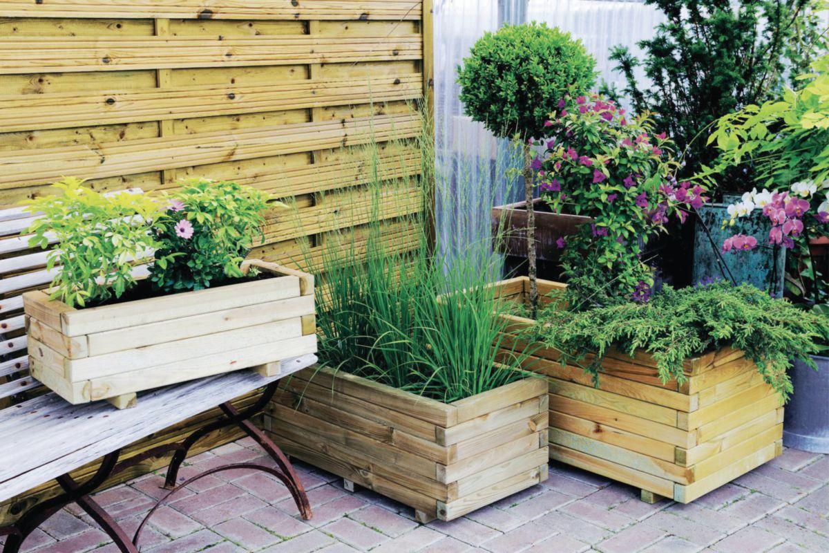 Decoration jardiniere exterieure fabulous idee de - Portillon de jardinidees pour votre exterieur ...