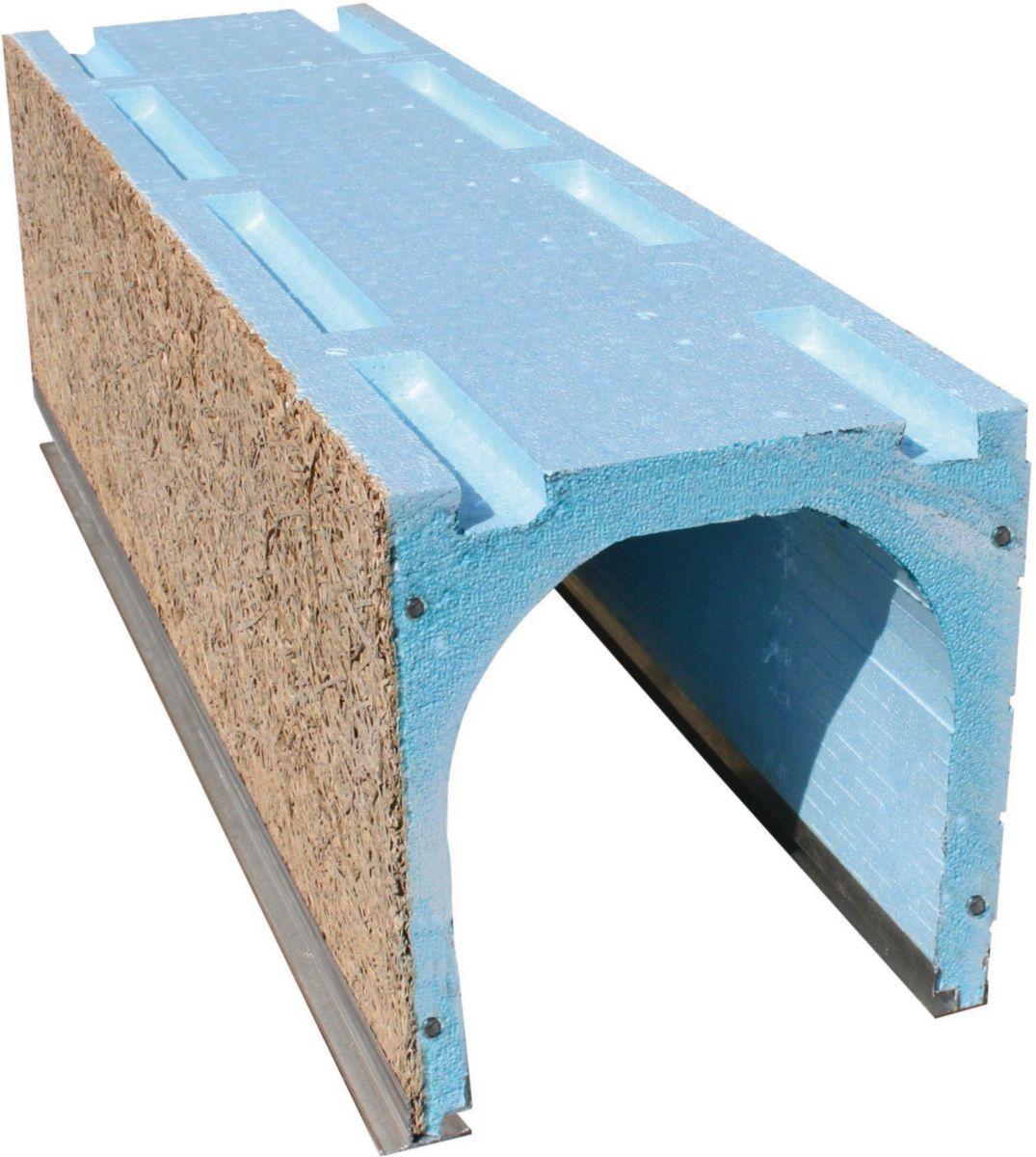 c2r coffre tunnel polystyr ne face fibre 280mm x900mm. Black Bedroom Furniture Sets. Home Design Ideas