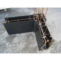 panneau de coffrage sonoform pour fondation et protection paisseur 8mm 2 7x1 2m sonoco alcore. Black Bedroom Furniture Sets. Home Design Ideas