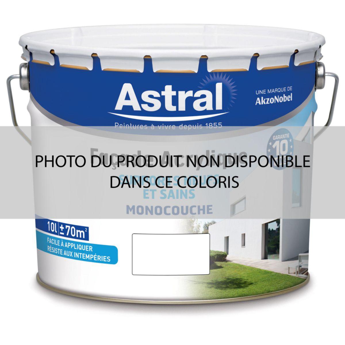 Astral Peinture Peinture Monocouche Façade Acrylique Base Clear