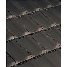 Tuile de ventilation h10 terre cuite ardois section 50 cm edilians couverture for Tuiles h10 prix