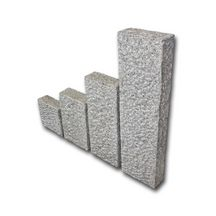 Palissade En Granit Brochée   25x120 Cm   ép. 10 Cm