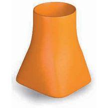Mitre sans collerette sc25 35x35x33 cm conduit 32x32 cm sortie 20 cm - Mitre cheminee terre cuite ...
