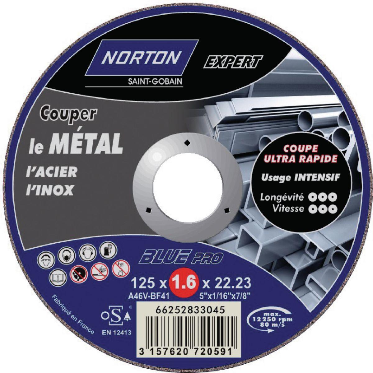 norton clipper disque tron onner blue pro 200 metal. Black Bedroom Furniture Sets. Home Design Ideas