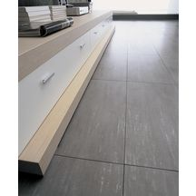 Carrelage sol int rieur gr s c rame artech grigio 30x60 for Artech carrelage