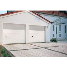 Porte de garage sectionnelle acier double paroi europro for Porte de garage tubauto point p