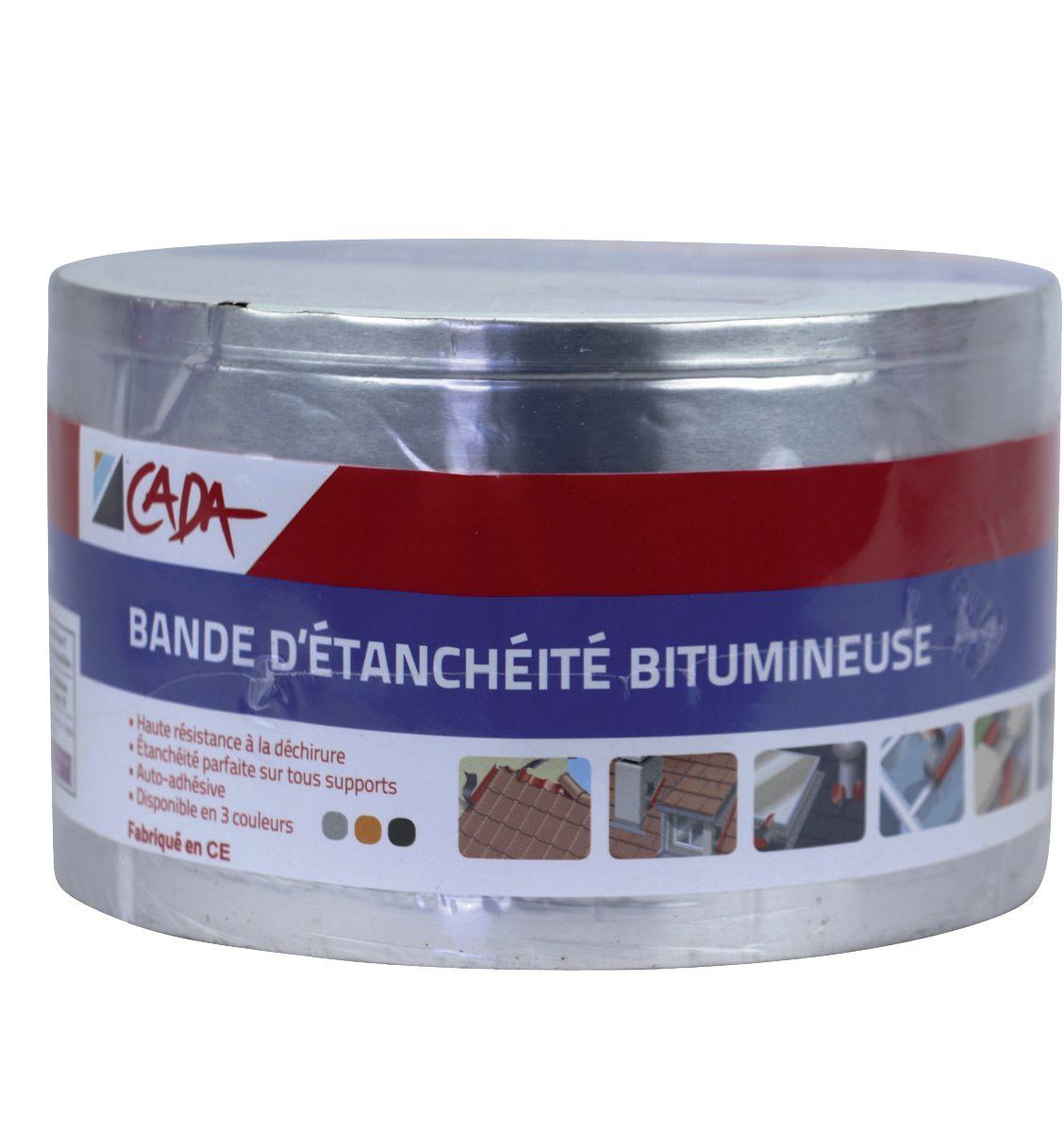 latest bande dtanchit bitumineuse couleur aluminium m x cm with bande bitumeuse spax. Black Bedroom Furniture Sets. Home Design Ideas
