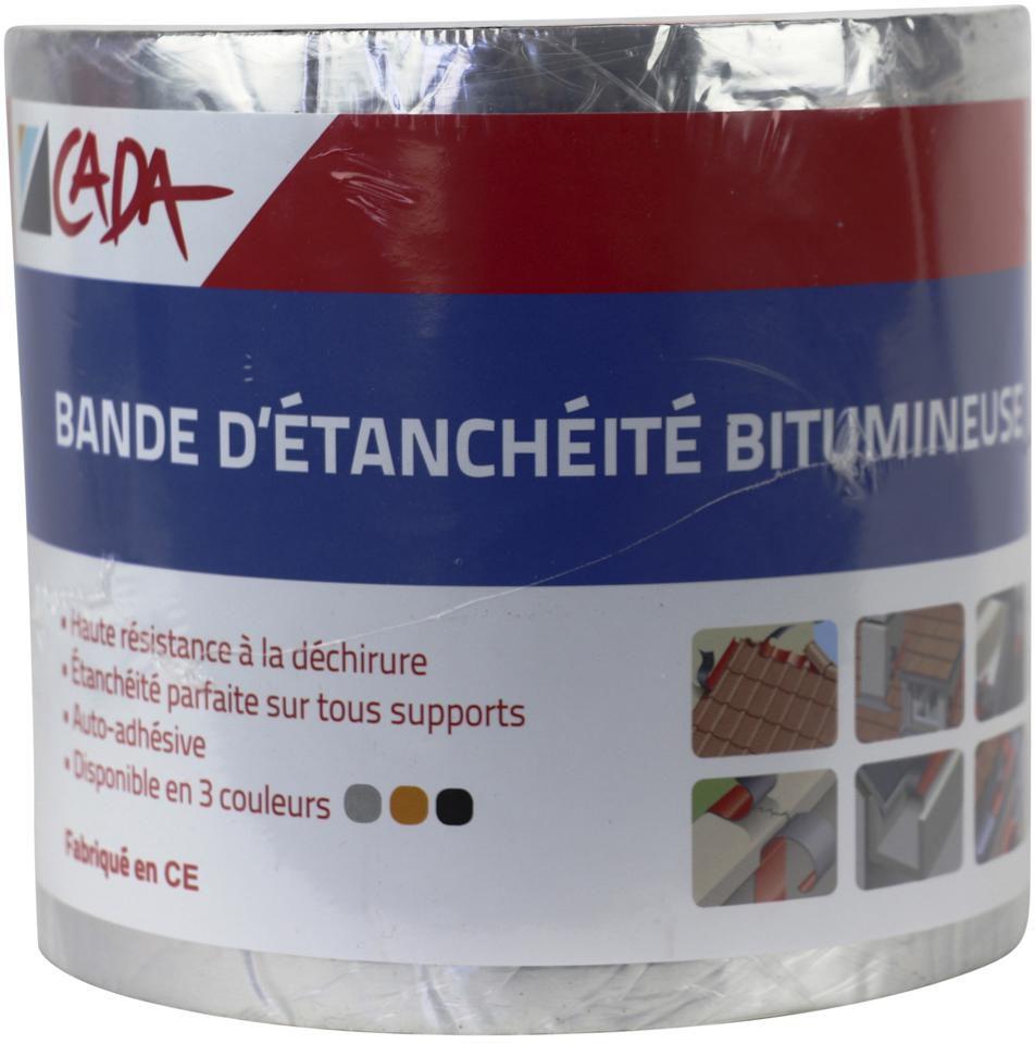 excellent bande dtanchit bitumineuse couleur aluminium m x cm with bande bitumeuse spax. Black Bedroom Furniture Sets. Home Design Ideas
