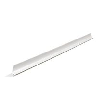 Couvre-joint PVC W70-A Couvraneuf blanc + clips 15/35 - L. 3 m