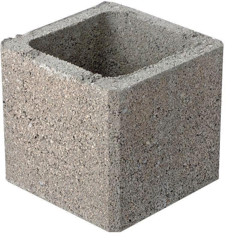 fabemi bloc pilier b ton 20x20x25 cm point p. Black Bedroom Furniture Sets. Home Design Ideas