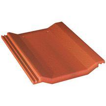 Tuile b ton perspective monier rouge sienne 420x330 mm monier toiture charpente for Distributeur tuiles monier