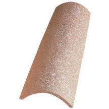 Tuile de couvert Canal Gironde 50 Poudenx - terre cuite - rose - 492x180 mm