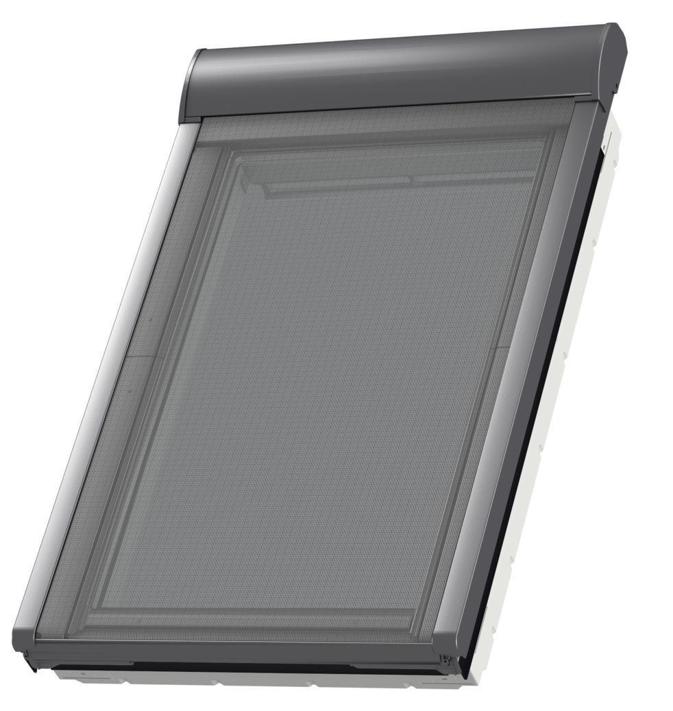 Store Pare Soleil électrique Mml Pour Fenêtre De Toit Mk08 78x140 Cm Gris Anthracite