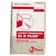 Pl�tre Lut�ce Projection 33 X Plus - sac 33 kg