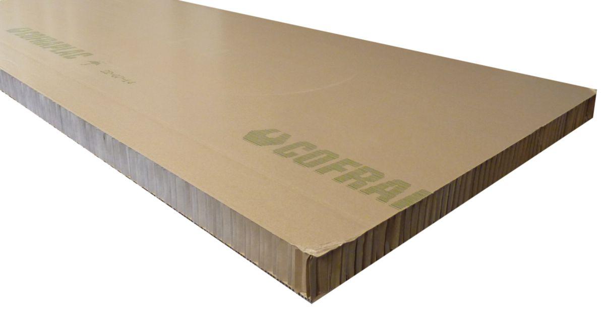 cofrasud plaque en carton nid d abeille cofraplac. Black Bedroom Furniture Sets. Home Design Ideas