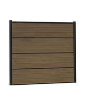 lame cran bois composite atmosph re silvadec brun fonc 21x150x1783 mm silvadec terrasses. Black Bedroom Furniture Sets. Home Design Ideas
