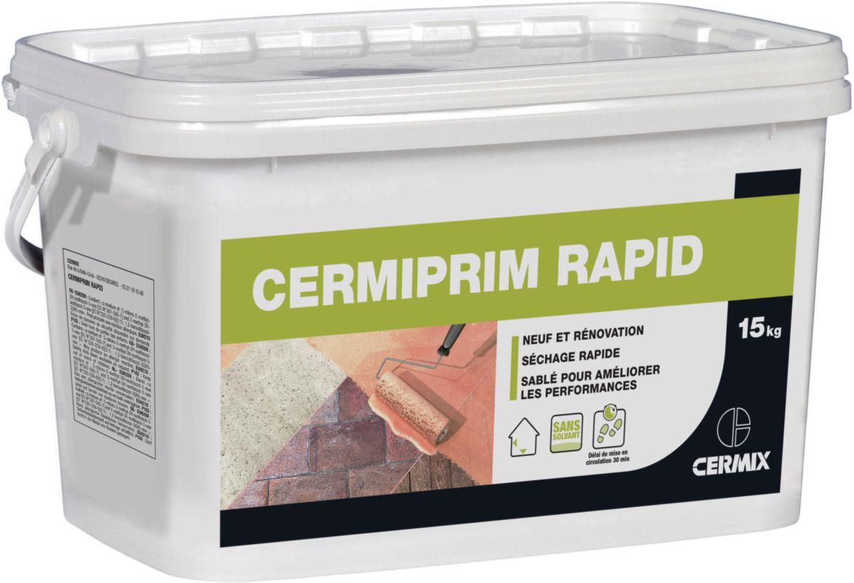 Cermix Primaire D Adherence Sable Rapide Pour Support Ferme Cermiprim Rapid Seau De 15 Kg Point P