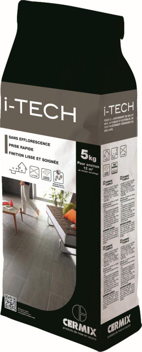 cermix joint de carrelage prise rapide i tech gris. Black Bedroom Furniture Sets. Home Design Ideas