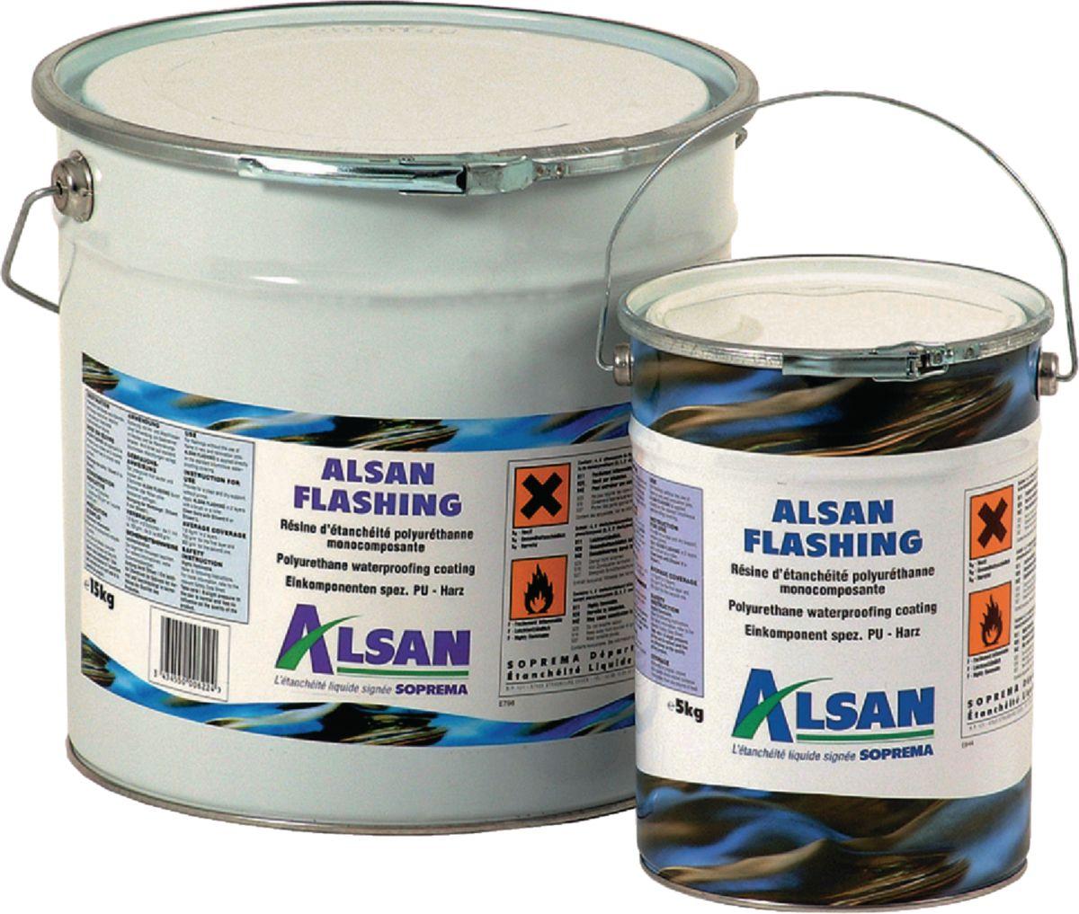 Etanchéité Alsan Flashing Soprema Bidon 15kg