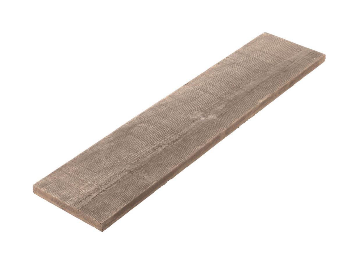 Alkern Dalle Sol Exterieur Pierre Reconstituee Planche Tennessee Bois 100x22 Cm Ep 3 5 Cm Point P