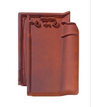 Tuile terre cuite postel 20 monier rouge vieilli 315x230 mm monier toiture charpente for Distributeur tuiles monier