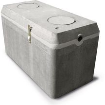 fosse septique b ton 30 bi sebico 3000 l avec pr filtre incorpor cassette 2 4x1 2x1 55 m. Black Bedroom Furniture Sets. Home Design Ideas