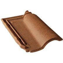 tuile terre cuite gallo romane monier brun vieilli nouveau 440x280 mm monier couverture. Black Bedroom Furniture Sets. Home Design Ideas