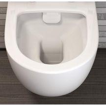 pack wc suspendu daily o2 sans bride avec abattant recouvrant slim frein de chute d clipsable. Black Bedroom Furniture Sets. Home Design Ideas