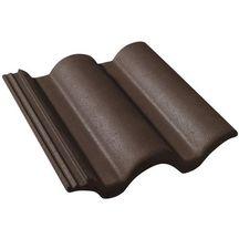 Tuile b ton plein ciel monier brun 420x330 mm monier toiture charpente distributeur de for Distributeur tuiles monier