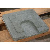 couvercle pour rehausse de fosse septique cvvb b ton 60 cm sebico gros oeuvre bpe. Black Bedroom Furniture Sets. Home Design Ideas