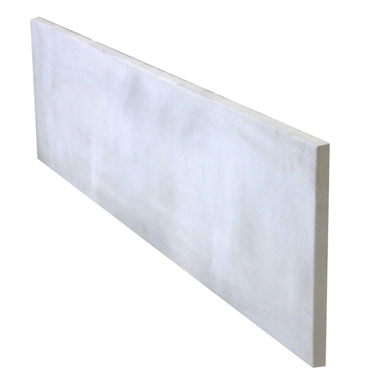 alkern plaque de cl ture pleine b ton arm 192x50x3. Black Bedroom Furniture Sets. Home Design Ideas
