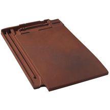Tuile terre cuite signy monier rouge vieilli 480x326 mm monier toiture charpente for Distributeur tuiles monier