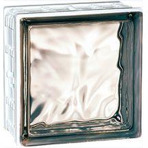 brique de verre 198 nuag e gris la roch re 19x19x8 cm. Black Bedroom Furniture Sets. Home Design Ideas