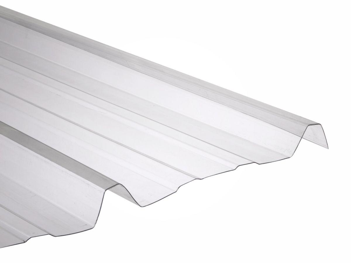 onduline plaque nervur e polycarbonate onduclair pc. Black Bedroom Furniture Sets. Home Design Ideas