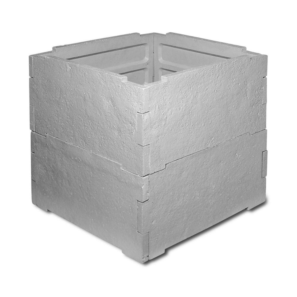 Surréaliste LEGOUEZ - Abri pour compteur d'eau - 8 plaques béton - 80x80x80 cm TZ-11