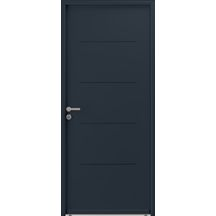 Portes Dentrée Menuiseries Extérieures Distributeur De - Porte de garage sectionnelle avec porte de service pvc 200x90