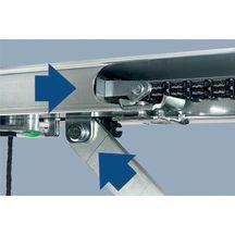 Motorisation sur rail pour porte de garage procom 7 3 2 for Porte de garage tubauto point p