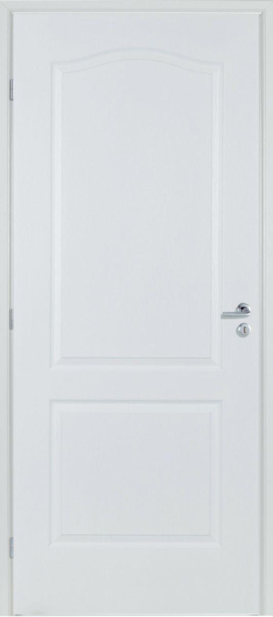 le plus populaire mode de premier ordre vendu dans le monde entier RIGHINI - Bloc-porte alvéolaire Design 210 prépeint blanc ...