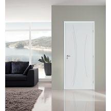 Blocporte Isolant Kaori Blanc Huisserie Sapin Mm X Cm - Bloc porte isolante