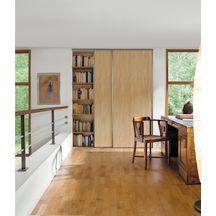 Porte De Placard Placards Et Rangements Menuiseries Intérieures - Porte placard coulissante avec porte seule