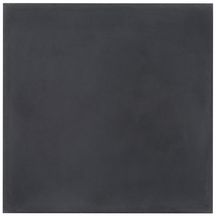 Carreau de ciment uni CINO01 - anthracite - 20x20 cm - ép. 1,6 cm