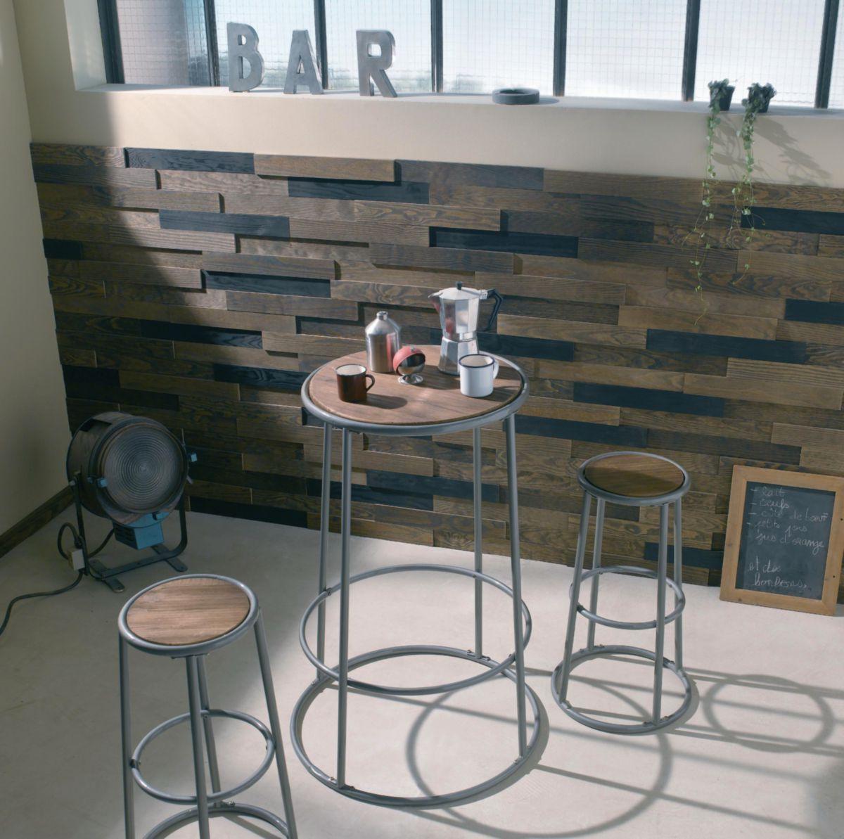 arte home lambris parement bois relief adh sif pin. Black Bedroom Furniture Sets. Home Design Ideas