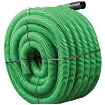 gaine hekaplast tpc en pehd double paroi annel e lisse vert dn 40mm couronne de 25m hegler. Black Bedroom Furniture Sets. Home Design Ideas