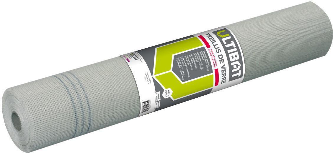 Ultibat Treillis De Verre Pour Façade Blanc Maille 9x10